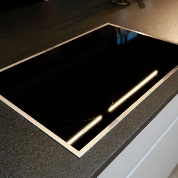 Kh Küche Angebot Pulverlack Silber Metallic Und Metallschwarz (14)