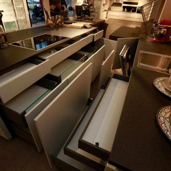 Kh Küche Angebot Pulverlack Silber Metallic Und Metallschwarz (20)