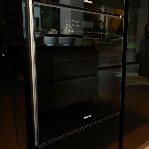 Kh Küchen Glas Schwarz Pulverlack Silbermetallic Angebot (9)