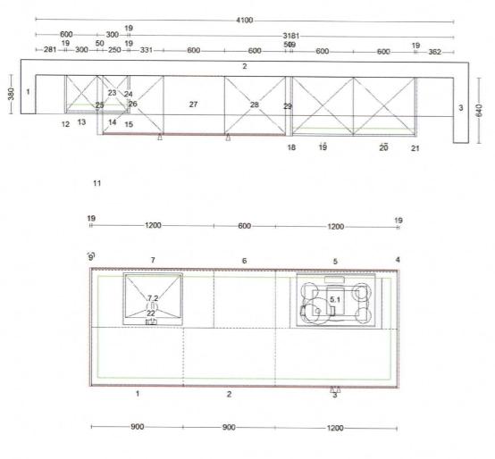 Kh Küchen Perfect Sence Weiß Vario Beton Grau Angebot (1)