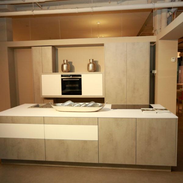 Kh Küchen Perfect Sence Weiß Vario Beton Grau Angebot (2)