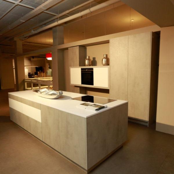 Kh Küchen Perfect Sence Weiß Vario Beton Grau Angebot (3)