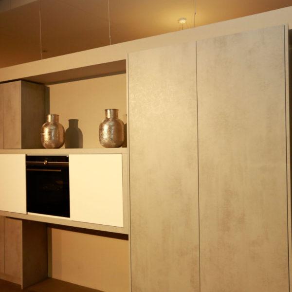 Kh Küchen Perfect Sence Weiß Vario Beton Grau Angebot (4)