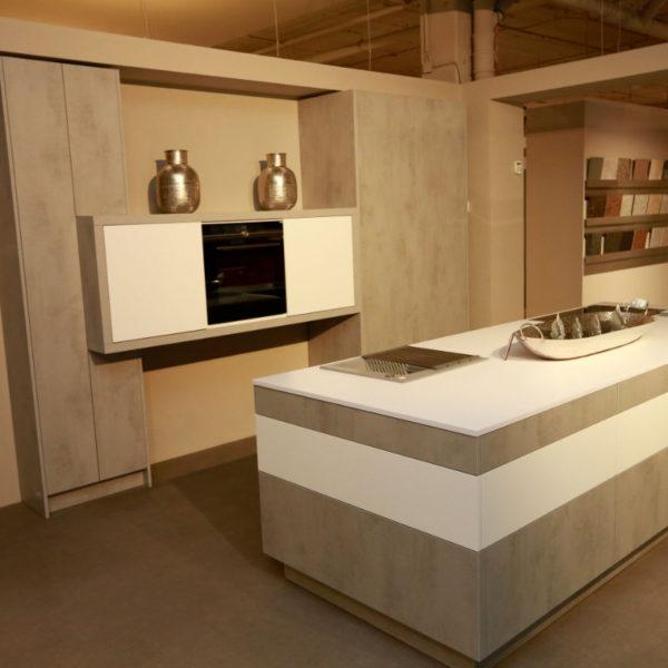 Kh Küchen Perfect Sence Weiß Vario Beton Grau Angebot (8)