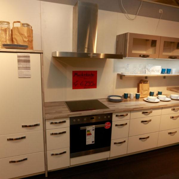 Nobilia Küche Sonderpreis Magnolie Lack (3)
