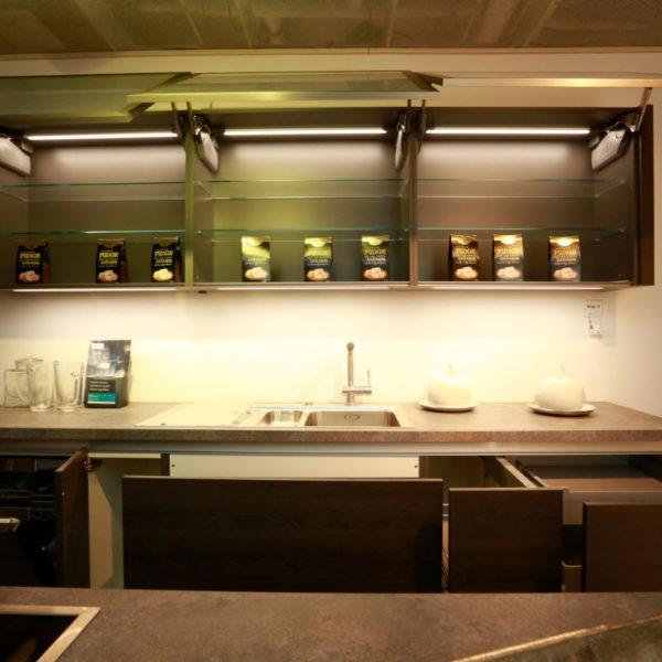 Nobilia Küche Struktura Holzdekor Gladstone Oak Angebot (11)