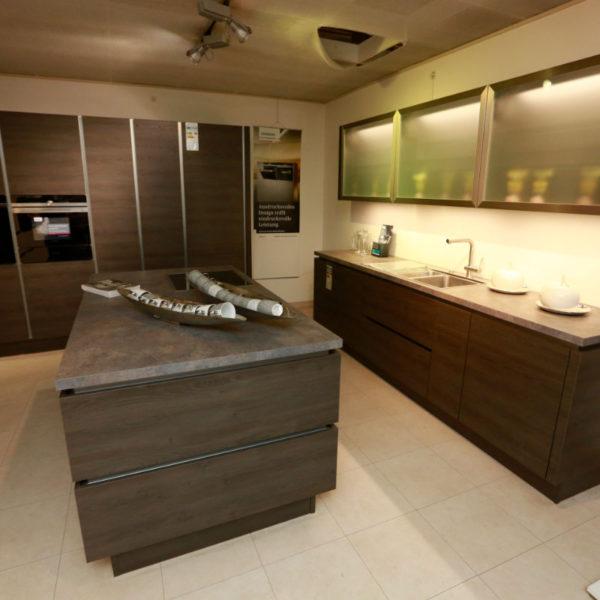 Nobilia Küche Struktura Holzdekor Gladstone Oak Angebot (3)