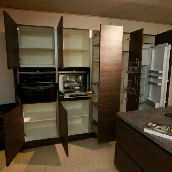 Nobilia Küche Struktura Holzdekor Gladstone Oak Angebot (9)