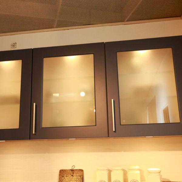 Nolte Küche Angebot Frame Papyrusgrau Blaubeere (8)