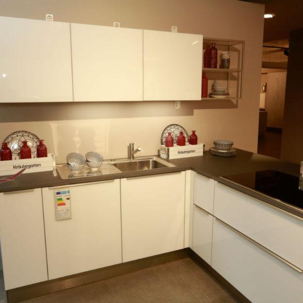 Nolte Küche Angebot Glas Tec Weiß (4)