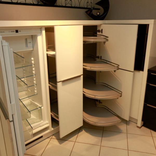 Nolte Küche Angebot Glastec Weiß Schwarz (7)