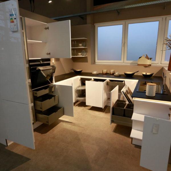 Nolte Küche Arcticweiss Hochglanz Angebot (13)
