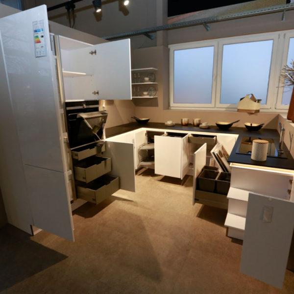 Nolte Küche Arcticweiss Hochglanz Angebot (14)