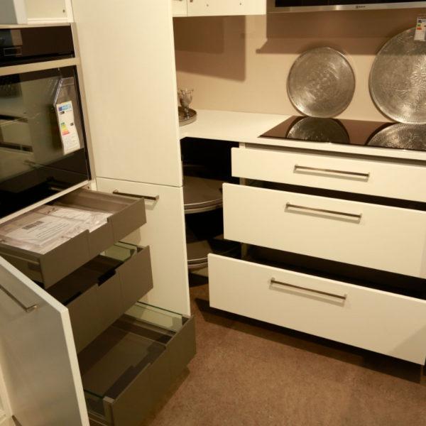 Nolte Küche Matrix 150, S19 Soft Lack Weiß Sonderangebot (12)