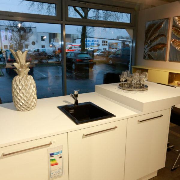 Nolte Küche Matrix 150, S19 Soft Lack Weiß Sonderangebot (8)