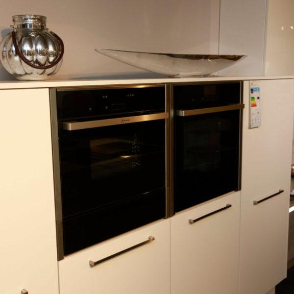 Nolte Küche Trend Lack Weiß Beton Abverkauf (10)