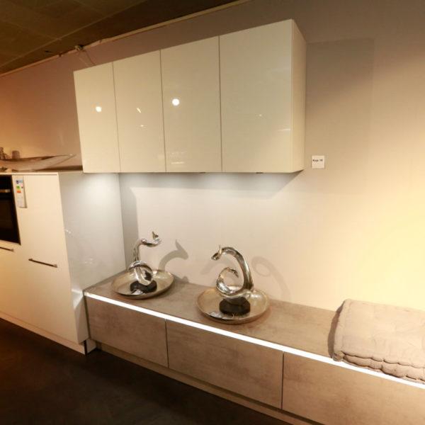 Nolte Küche Trend Lack Weiß Beton Abverkauf (6)