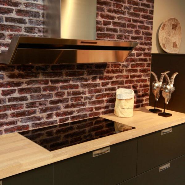 Schüller Küche Biella Lavaschwarz Angebot (3)