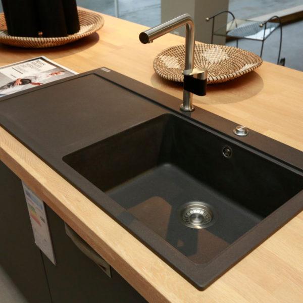 Schüller Küche Biella Lavaschwarz Angebot (5)