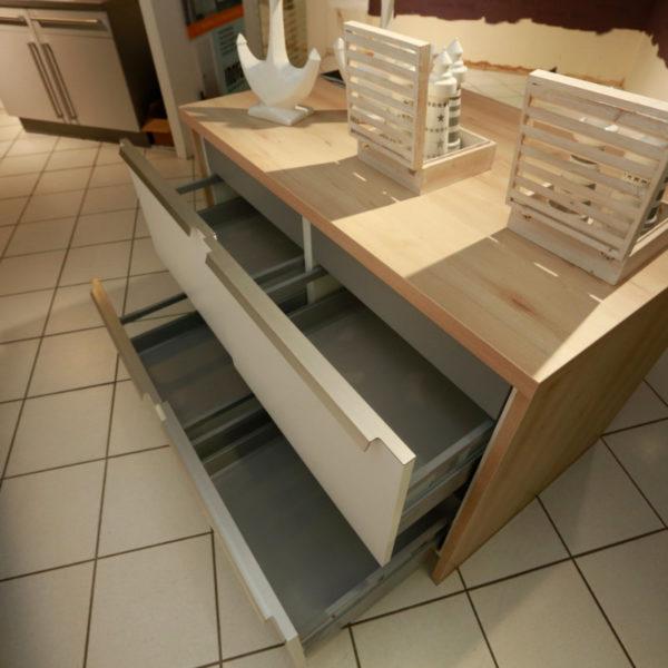 Schüller Küche Pura Weiß Steingrau Resopal Angebot (14)