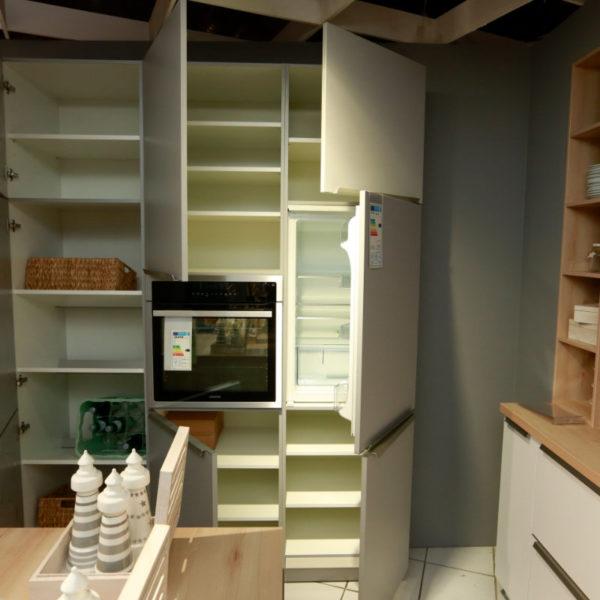 Schüller Küche Pura Weiß Steingrau Resopal Angebot (15)