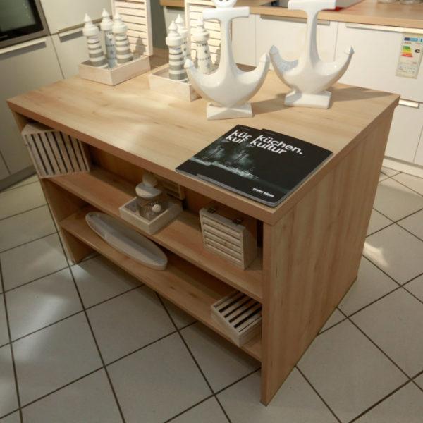 Schüller Küche Pura Weiß Steingrau Resopal Angebot (4)